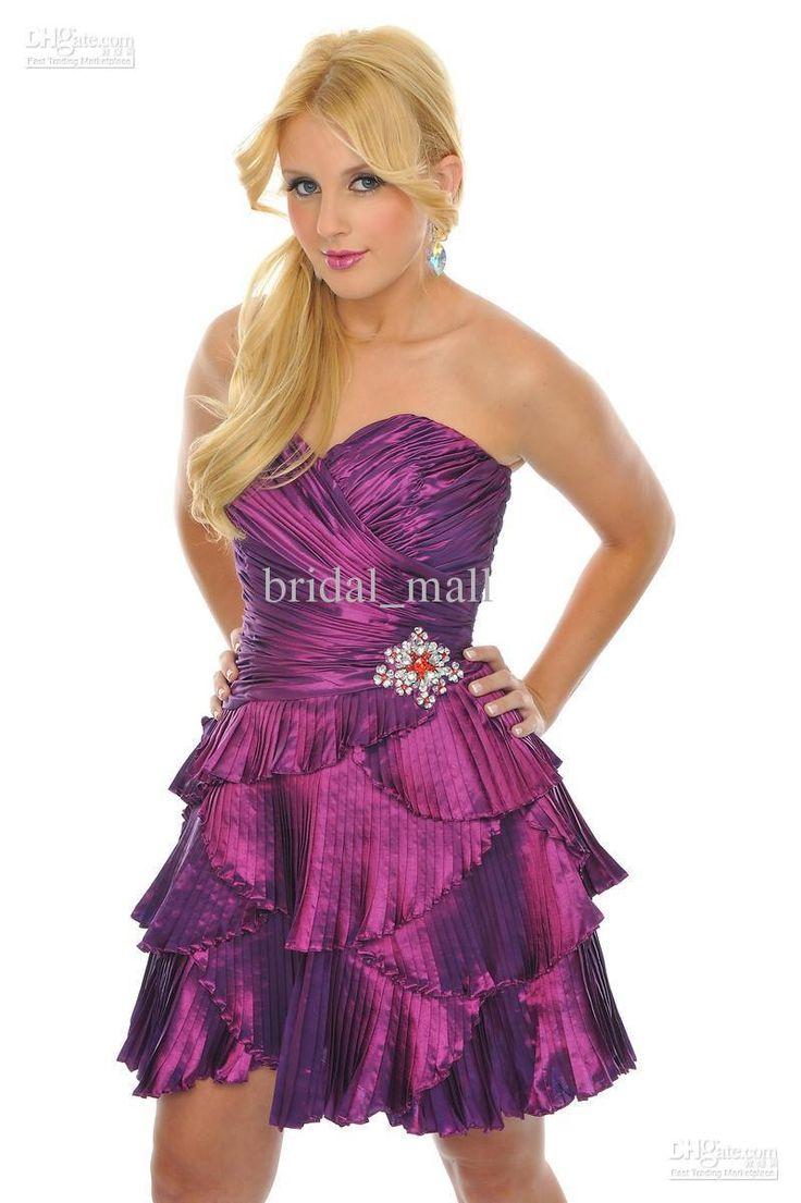 Mejores 17 imágenes de short prom dress en Pinterest | Vestidos de ...
