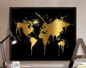 Black And Gold Wall Art best 25+ gold art ideas on pinterest | abstract wall art, gold