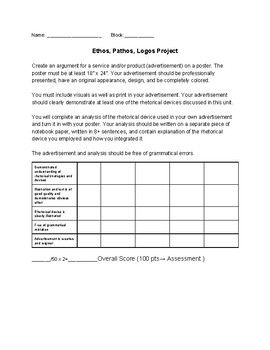 Worksheets Rhetorical Devices Worksheet 17 om rhetorical device pinterest argumenterande aristotles devices ethos logos pathos in advertising project