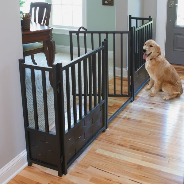 Royal Weave Freestanding Pet Gate, Door, & Side Panels