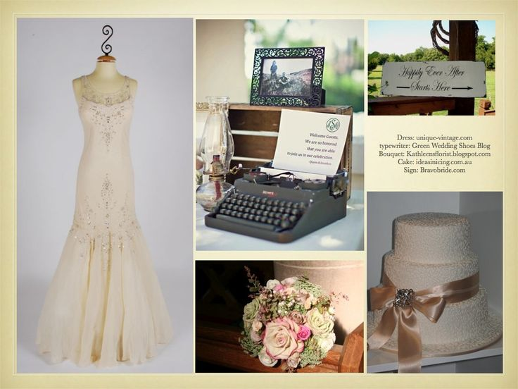 Victorian Wedding Love The Typewriter With A Note To Guests That Enter And  The Vintage Sign