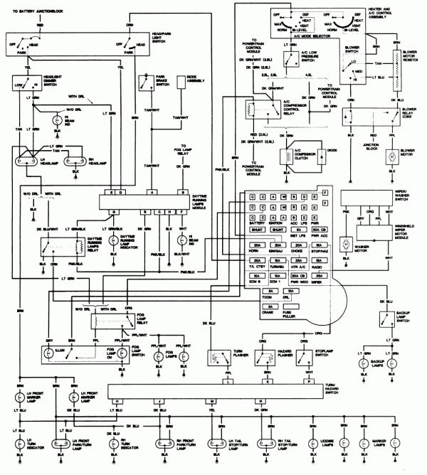 1989 Chevy Truck Steering Column Diagram And Mazda Steering Column Wiring Universal Wiring Diagram Chevy 1500 Chevy Trucks Chevy S10