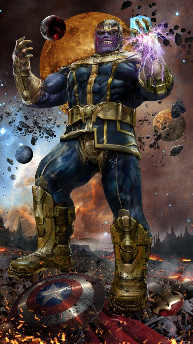 """thecyberwolf: """" The Mad God Created by John Gallagher (Uncanny Knack) / Find this artist on Website & DeviantArt / More Arts from this Artist on my Tumblr HERE """" I am furious to what he did to Loki. I long to when Thor and rest of the heroes defeat him"""