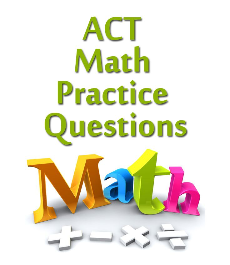 If you've been looking for sample questions for the math part of the ACT, you're in the right place.  Check out these free multiple choice questions for great practice! http://www.studyguidezone.com/act_math.htm  #act #testprep #college www.mo-media.com/act www.flashcardsecrets.com/act