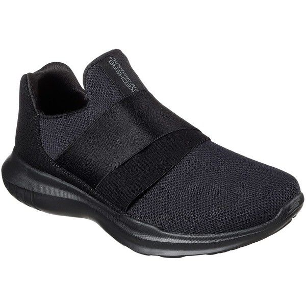Skechers Women's Skechers Gorun Mojo - Mania Black - Skechers... ($65) ❤ liked on Polyvore featuring shoes, athletic shoes, black, lightweight shoes, skechers shoes, skechers footwear, skechers athletic shoes and light weight shoes