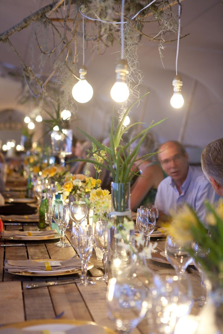 www.facebook.com/eventsandtents  Wedding Planning, hire & styling - Events & Tents; Florist - Pippa's Flowers; Photographer - Alfred Lor; Stationery - Paisley Dog; Catering - Dee's Catering; Hair & Makeup - Karin Chan  #tablescapes #stretchtent #yellow #mint #wedding #woodentables #light