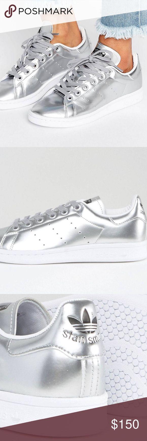 Metallic silver Adidas Stan Smith Women's Brand new Metallica silver Adidas Stan Smith Adidas Shoes Sneakers