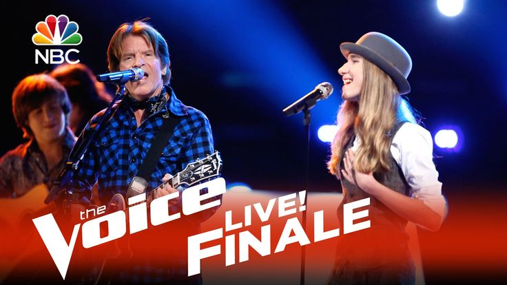 """The Voice 2015 Sawyer Fredericks and John Fogerty - Live Finale: """"Born on the Bayou/Bad Moon Rising 