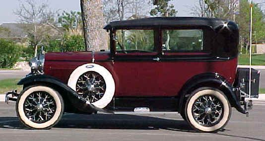 1930 Ford Model A Tudor Sedan.                                                                                                                                                                                 More