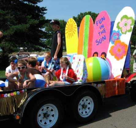 cute kids themed floats   Fourth of July Parade Float Ideas   Skip To My Lou