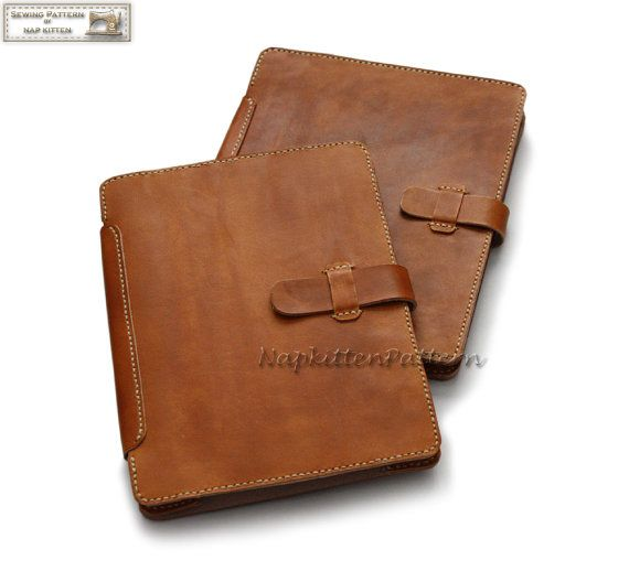 Leather IPad case pattern Leather bag tutorial от NapkittenPattern