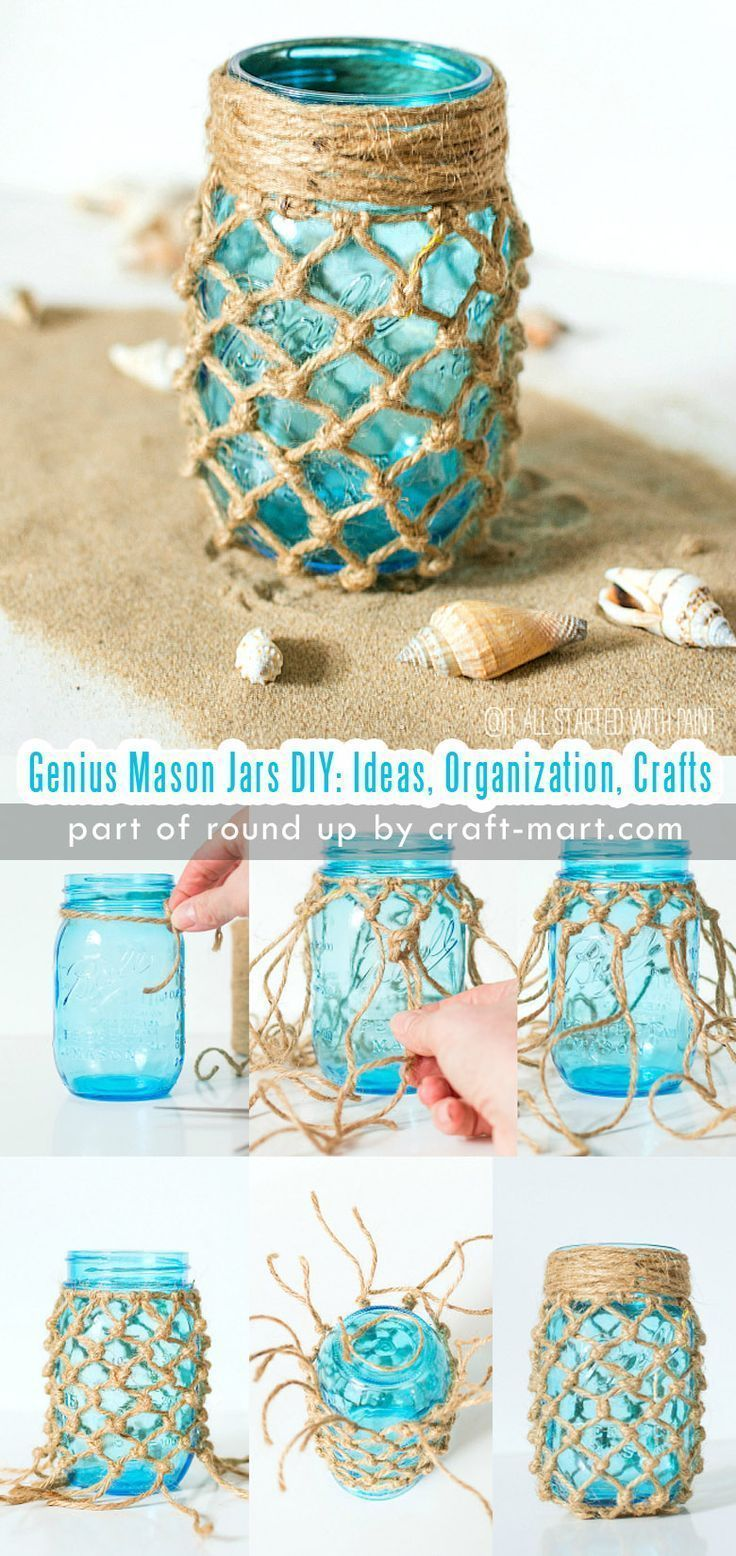Simply Genius Mason Jars DIY: Ideas, Organization, Crafts