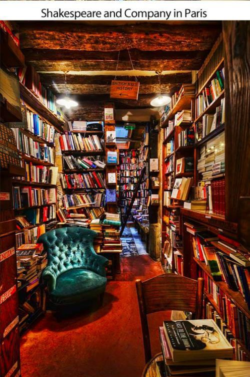 Shakespeare and Company in Paris...