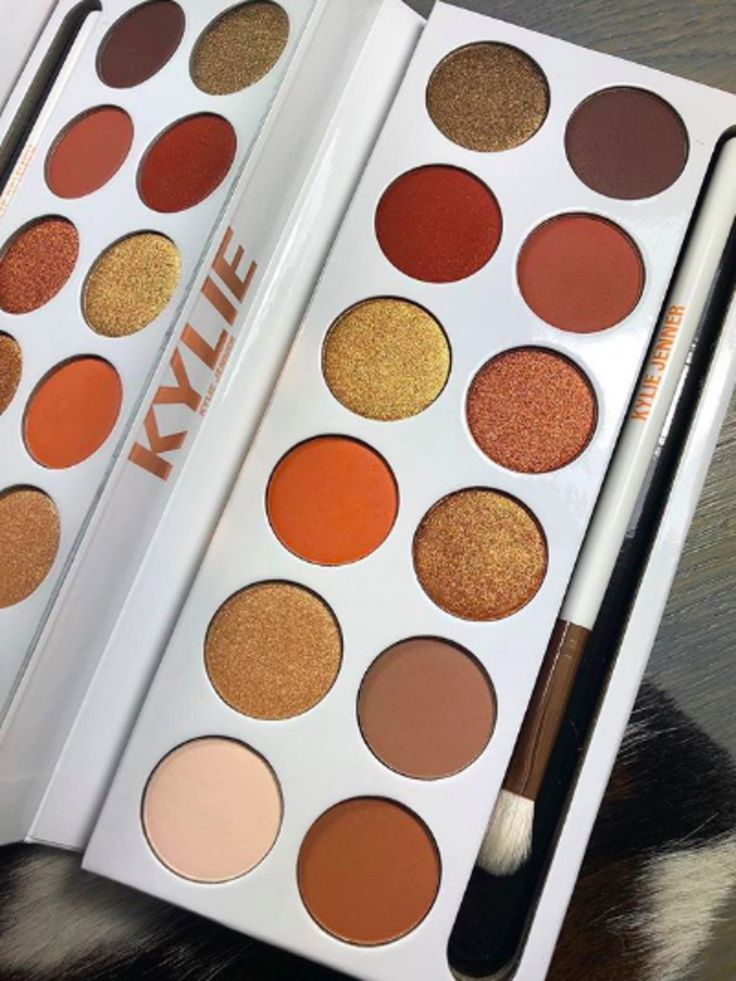 Kylie Cosmetics Surprised Fans by Dropping the Bronze Extended Eye Shadow Palette TODAY