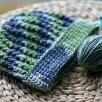 Easy Crochet Ribbed Hat Pattern (Men's / Unisex)
