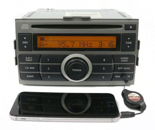 2007 2008 2009 OEM Nissan Sentra AM FM CD w Factory Aux Part Number 28185ET000