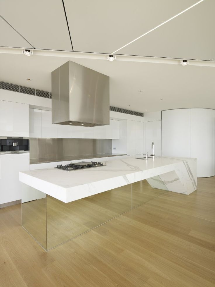 Bondi Penthouse. What a great #kitchen island! Inspiring!
