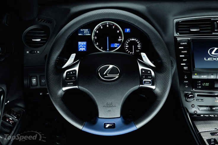 More details on the 2011 Lexus IS-F