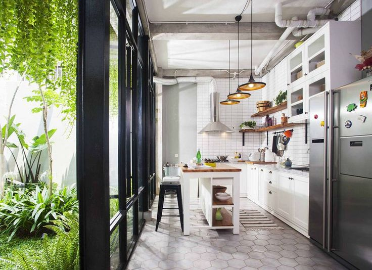 Make Tiny Kitchen Looks Wider. Everyone, especially those who love cooking, definitely want a spacious kitchen. However, the reality is not necessarily