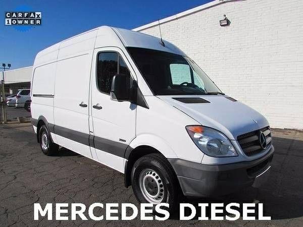 Mercedes Sprinter Van 2500 Cargo Utility Work Tommy Lift We Finance! (27025_We_Finance)