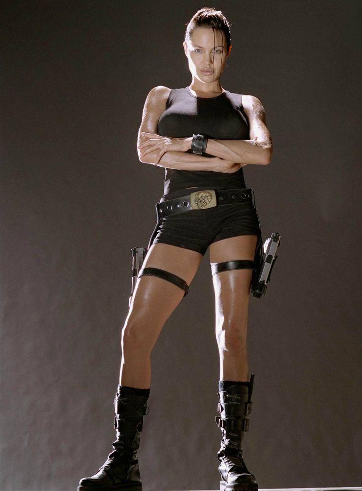Lara Croft - Tomb Raider- Angelina Jolie | fitspo | Pinterest