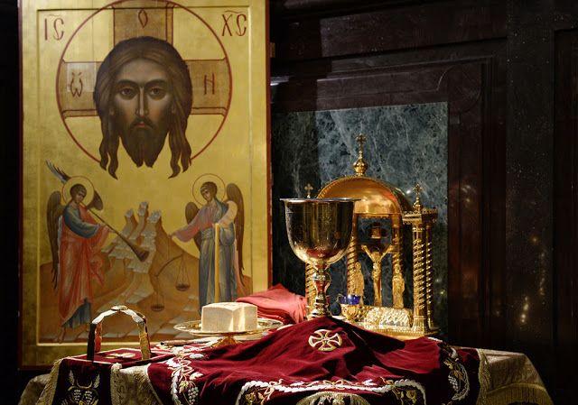 Παναγία Ιεροσολυμίτισσα : Η συνεχής Θεία Κοινωνία