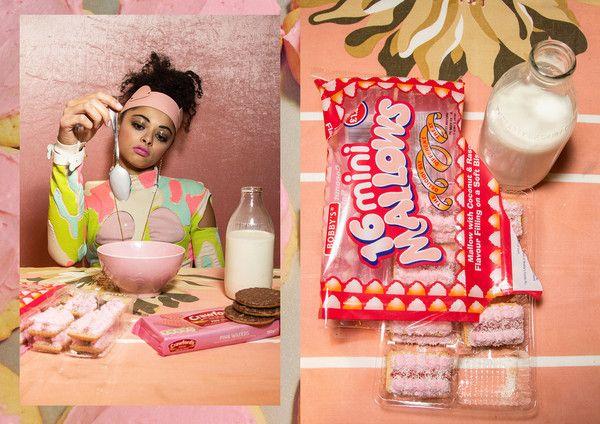SNEAKY Magazine pink larissa head band