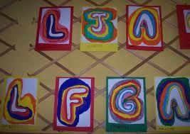 initiale et lettres du prenom en maternelle - Recherche Google