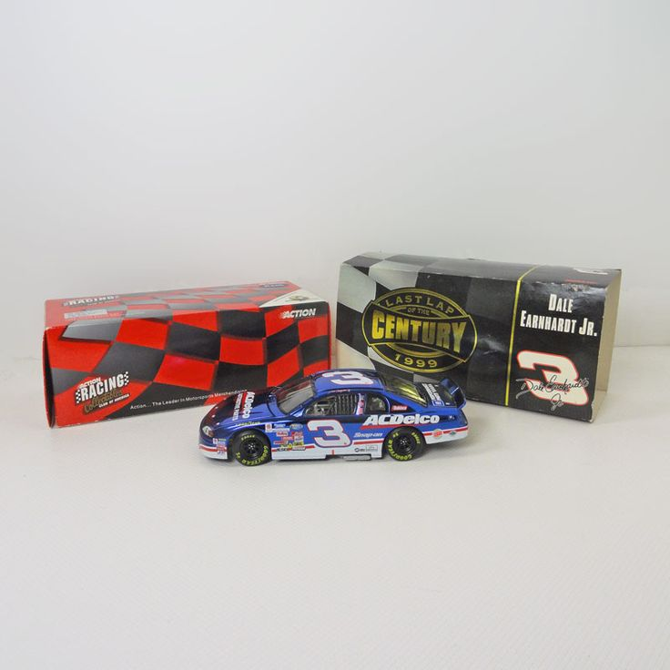 Dale Earnhardt Jr No. 3 1999 Chevy Diecast Car Bank - FOR SALE! Nascar driver Dale Earnhardt Jr. No. 8 Collectible. 1:24 scale of the 1999 AC Delco Chevy Monte Carlo stock car. Action collectible bank. Buy Now