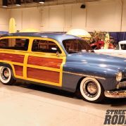 2013 Grand National Roadster Show 1951 Mercury Woodie