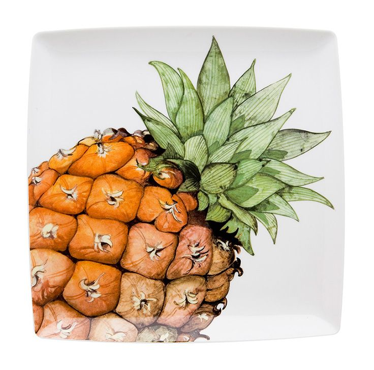 TROPICS - Charger Plate Pineapple