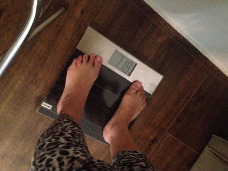 Day Three - 71,8 kg