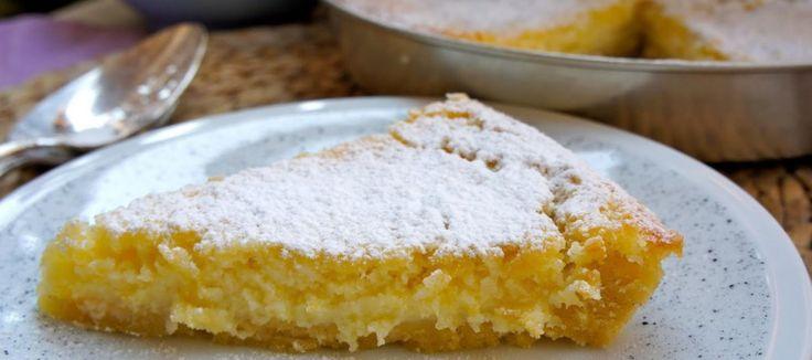Torta al limoncello – Limoncellotaart