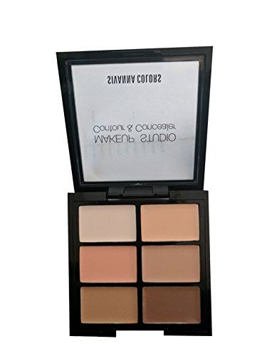Sivanna Colors Makeup Studio Contour & concealer palette 8g in 2018 | Buy Beauty and Health Products in India | Pinterest | Makeup studio, Concealer palette ...