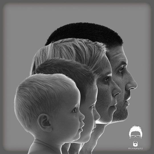 ¡Una idea de lo más original para tus retratos familiares! #fotografia #ideas