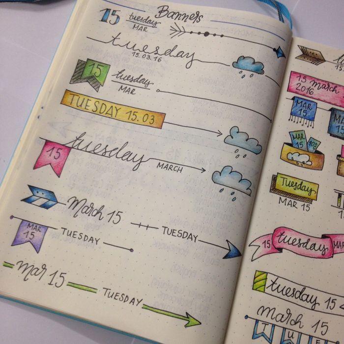 Compartiendo mi rutina mensual, semanal y diaria de planificación usando mi diario de bala