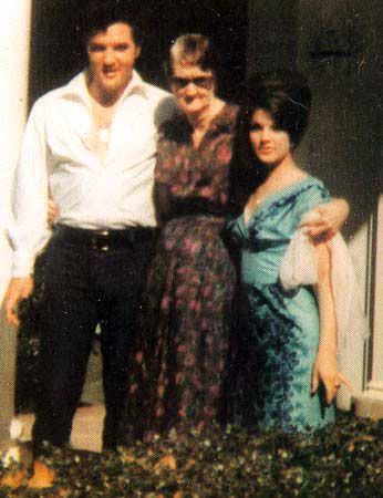 Elvis And Priscilla Presley | Elvis and Priscilla - elvis-and-priscilla-presley Photo