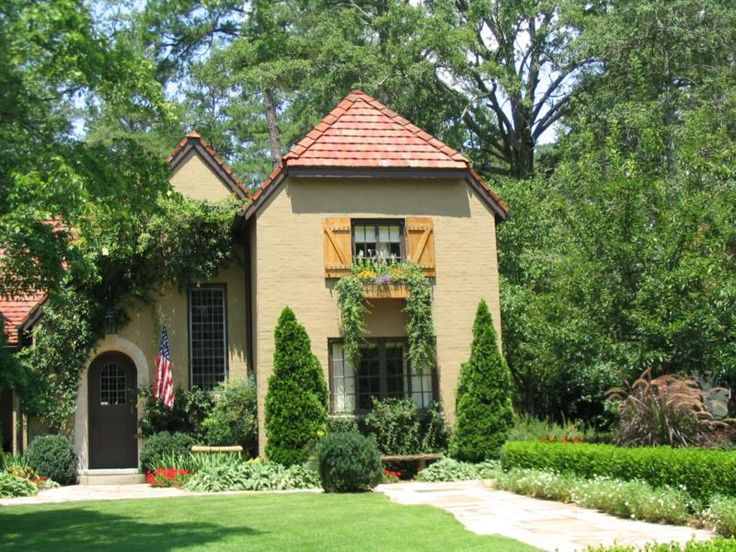 Mountain Brook Alabama French Style Homes Architecture