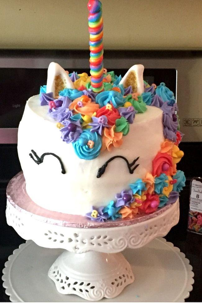 Mystical Unicorn Cake | Recipe | Unicorn cake design