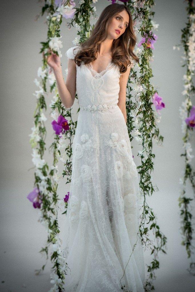 Uno degli abiti della collezione in stile boho chic firmata Celestina Agostino <3  #LaMaisonBlanche #LMB #WEDDING #CelestinaAgostino