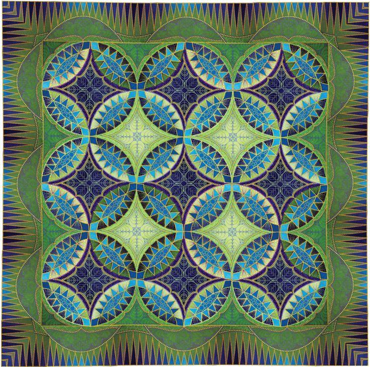 Pickle Promenade   Sharon Schamber Quilts