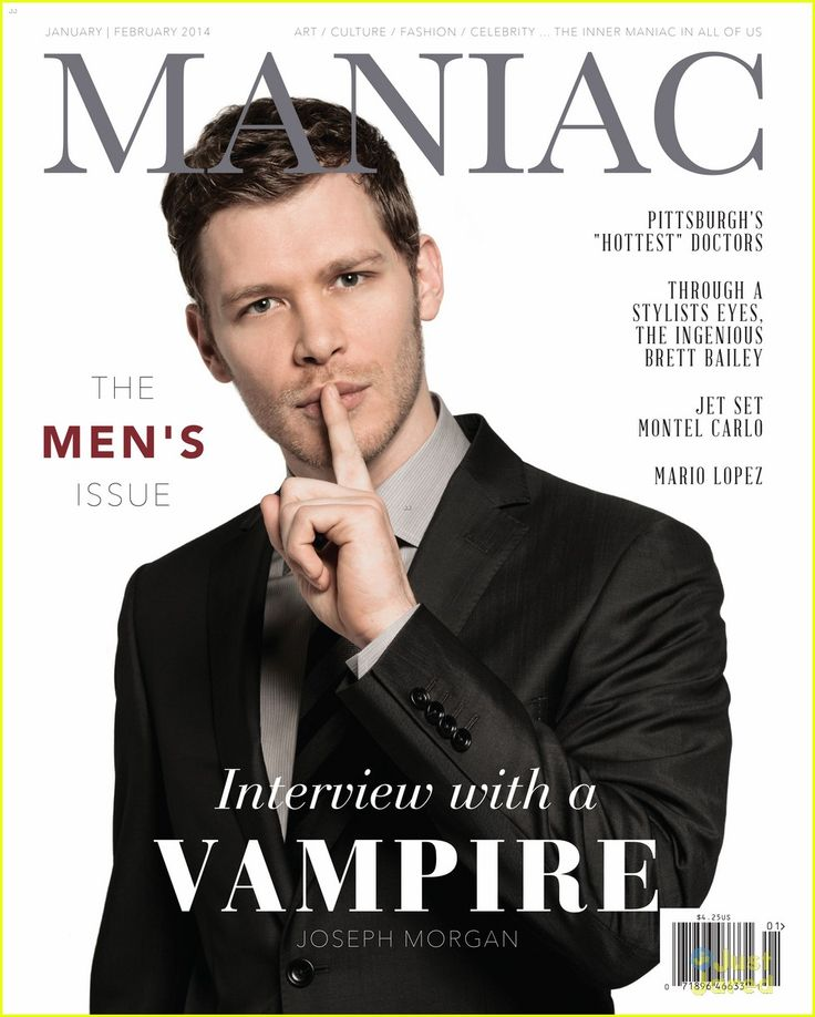 Joseph Morgan Covers 'Maniac' Magazine | joseph morgan maniac mag cover 05 - Photo Gallery | Just Jared Jr.
