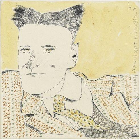 Francis Scott Fitzgerald (incisione), 2013 / Tullio Pericoli