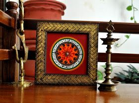 For the Love of Sunshine Corners: Upcycled Clock Face
