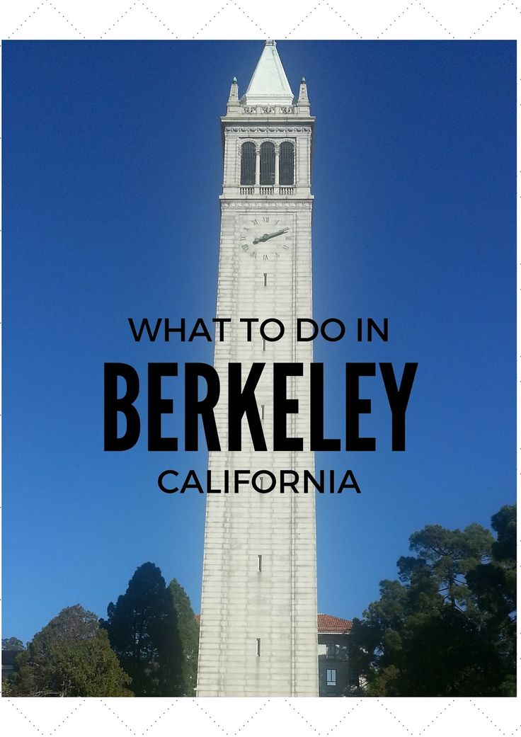 Things to do in Berkeley, California