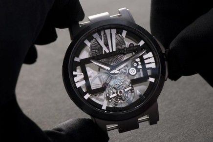The ultra-light Ulysse Nardin Executive Skeleton Tourbillon reigning atop its category