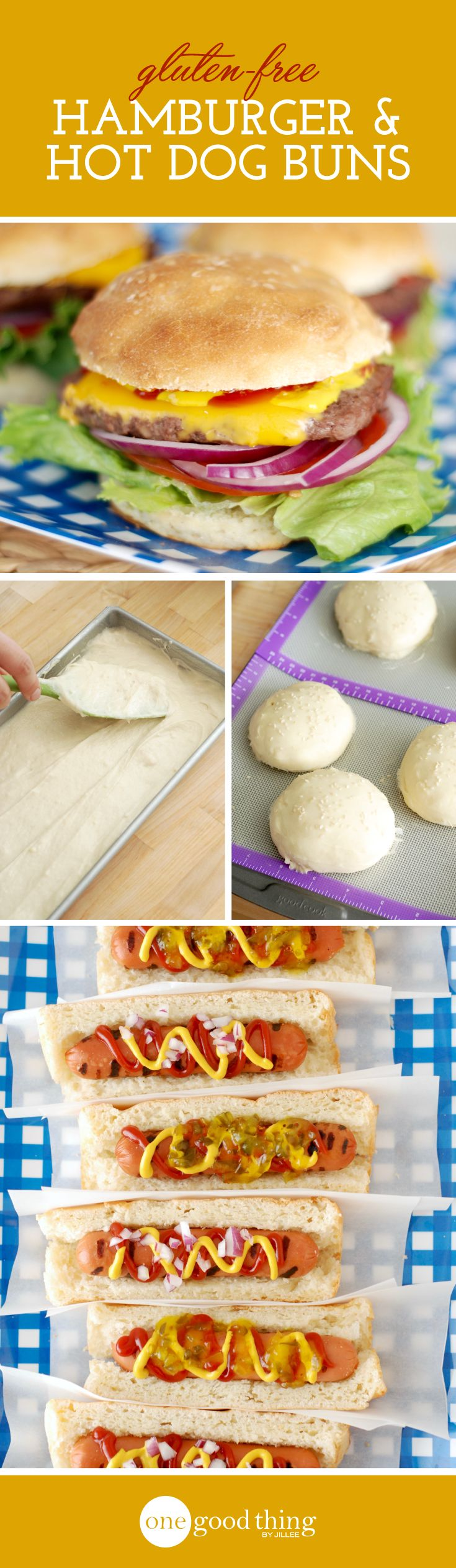 How to Make Delicious Gluten-Free Hamburger and Hot Dog Buns…No, Really!