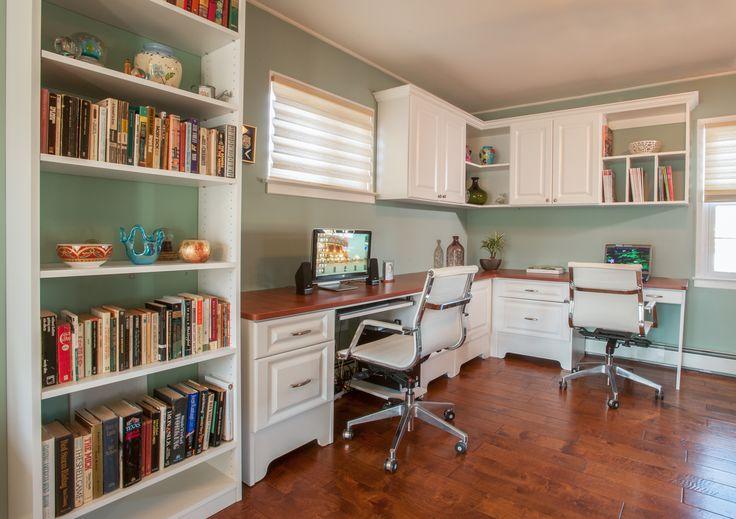Two Person Home Office Desk Canada