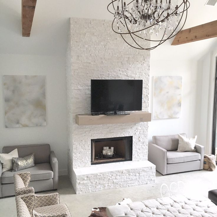 White grey gray neutral decor living room rustic glam for Glam modern living room