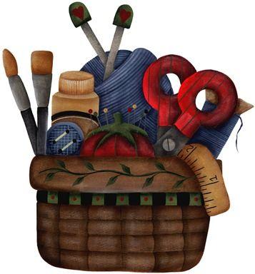 imagem decoupage clipart  Craft Basket